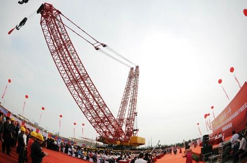 三一重工大吨位起重机获国家科技进步二等奖