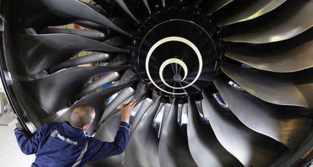 劳斯莱斯公司表示,准备利用3d打印技术生产飞机引擎组件,以便高清图片
