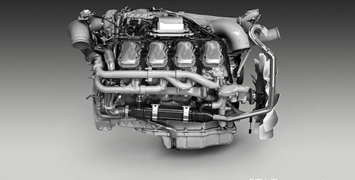 尼亚推出新欧六V8生物柴油发动机