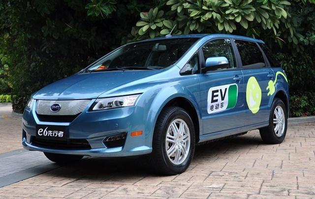 比亚迪纯电动车计划曝光 将首推2款新车高清图片