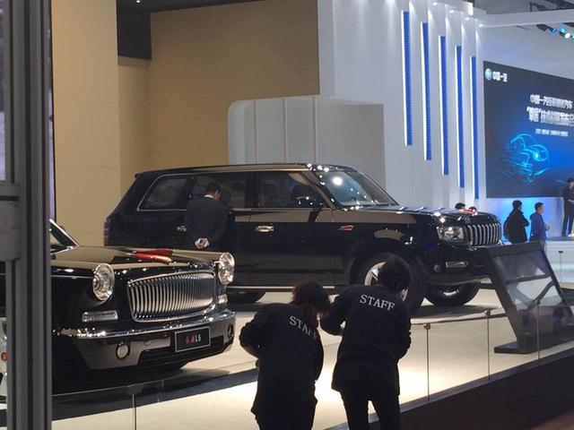 红旗SUV-2015上海车展探馆 红旗豪华SUV将亮相高清图片