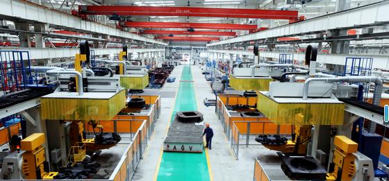 徐工塔机数字化工厂